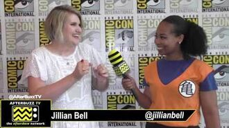 "Jillian Bell discusses playing an ""Angsty"" Character on Bless The Harts SDCC 2019"