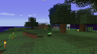 Creepers at my farm2