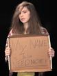 Homeless Julia