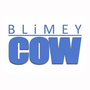 Blimey Cow 2011 Logo