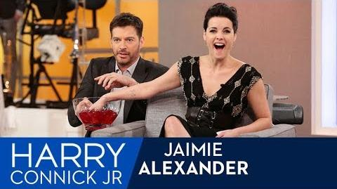 "Jaimie Alexander Plays ""What's In Your Blindspot?"""