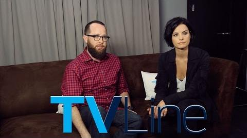 Blindspot Interview at Comic-Con 2015 - TVLine