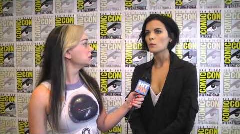 Watch 'Blindspot' star Jaimie Alexander's chewbacca impression at Comic-Con 2015