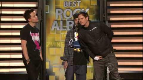 2009 GRAMMY Awards - Coldplay Wins Best Rock Album