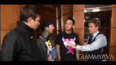 Blink 182 - Access Hollywood Grammys Interview 2009 (DOWNLOAD) (HQ)