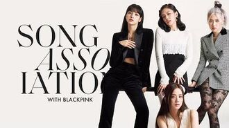 """BLACKPINK Sings Dua Lipa, Taylor Swift, and """"Kill This Love"""" in a Game of Song Association ELLE"""