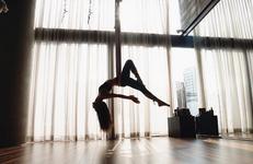 Jisoo Flying Yoga