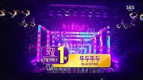 BLACKPINK - '뚜두뚜두 (DDU-DU DDU-DU)' 0701 SBS Inkigayo NO