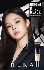 Jennie for Hera Black Foundation 2
