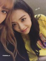 Jisoo IG Story Update with Lisa 180818