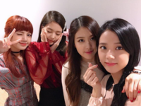 BLACKPINK YGEX update in Osaka, Japan 170925