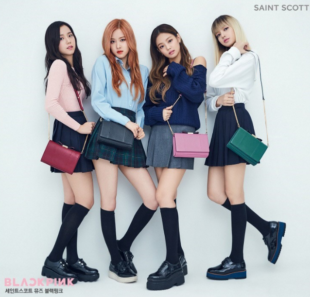 Black Pink Saint Scott