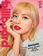 BlackpinkXBillboard - March 2019 Edition Lisa Cover
