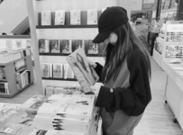 Jennie at the Book Store 2