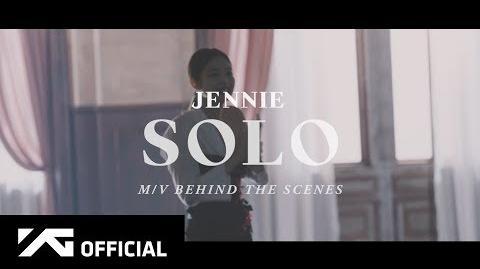 JENNIE - 'SOLO' M V MAKING FILM