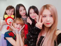 Cx mezamashi Twitter Update with BLACKPINK 180825