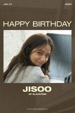 Jisoo Birthday Poster 2020