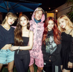 Diplo IG Update with BLACKPINK 190413