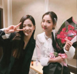 Jisoo and Dara