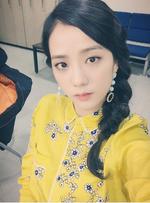 Jisoo Inkigayo 1