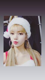 Lisa IG Story Update 181225