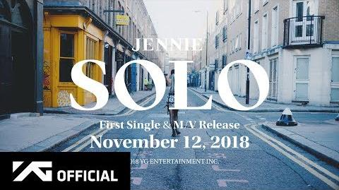 JENNIE - 'SOLO' M V TEASER