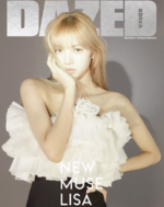 Lisa for Dazed Korea 2019 2
