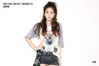 New Girl Group Member 3 Jisoo Debut Promo Picture 3