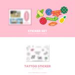 BLACKPINK Summer Diary in Hawaii Sticker Set & Tattoo Sticker