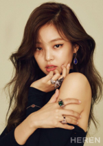 Jennie for Heren Magazine October Issue 2017