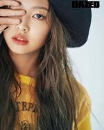 Jennie Dazed Issue 4
