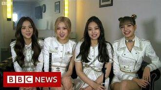 Blackpink Meet the K-pop superstars backstage - BBC News