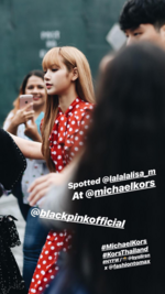 Voguethailand IG Story Update of Lisa 180912 2
