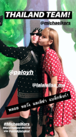 Voguethailand IG Story Update of Lisa 180912
