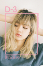 BLACKPINK Lisa Square One promotional photo