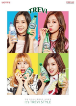 BLACKPINK shots for Trevi 2
