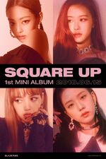 Square Up Promotional Poster