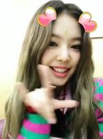 Jennie Inkigayo Snow