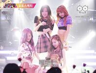 BLACKPINK at JYP Party People 4