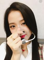Jisoo Music Core 120817 IG Update 3