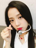 Jisoo Music Core 120817 IG Update 4