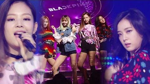 《EXCITING》 BLACKPINK (블랙핑크) - WHISTLE (휘파람) @인기가요 Inkigayo 20160904