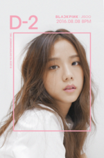 BLACKPINK Jisoo Square One promotional photo