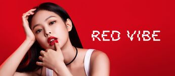 Jennie X Hera Beauty Korea 2019 Red Vibe 2