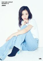 New Girl Group Member 3 Jisoo Debut Promo Picture
