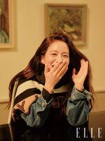 Jisoo for ELLE Korea Issue December 2019 3