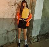 Lisa for Adidas Korea