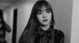 Lisa screencap for Elle x Rouge Dior Liquid Video