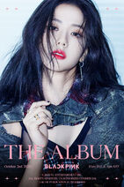 The Album Jisoo Teaser Poster 1