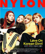 Black Pink Nylon Japan Magazine